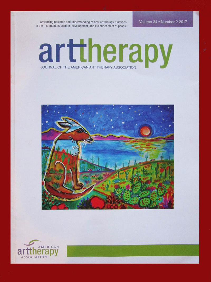 Rachel Houseman, American Art Therapy Association, ColorScapes, AATA Cover