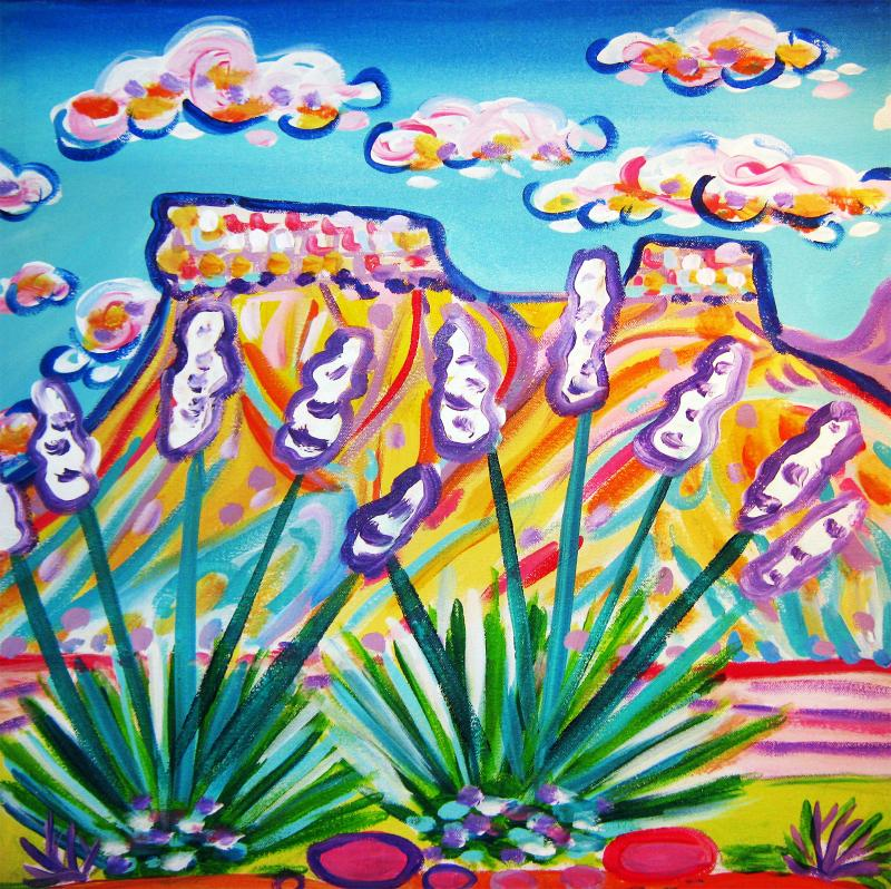 Rachel Houseman, Southwest Art, Colorful Art, ColorScapes, Southwest, Colorado