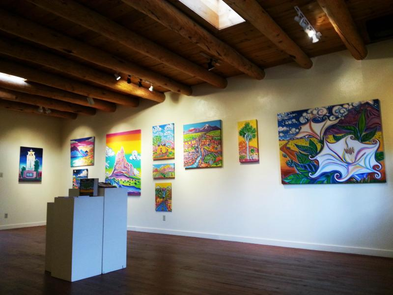 Santa Fe Artist, Santa Fe Art Gallery, Rachel Houseman, ColorScapes, Artworks