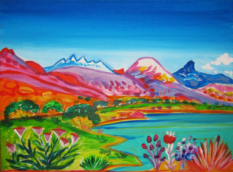 Rachel Houseman, Colorado, Santa Fe Artist, Santa Fe Art Gallery, ColorScapes