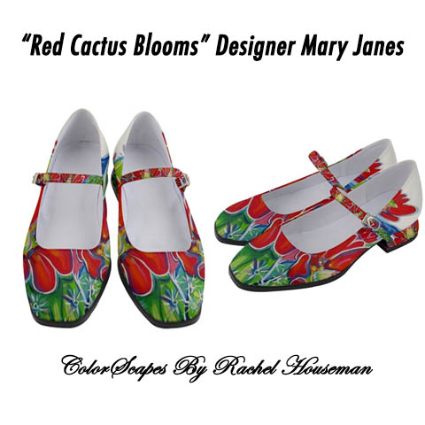 Rachel Houseman, Mary Janes, Designer Shoes, Fashion Shoes, ColorScapes Shoes