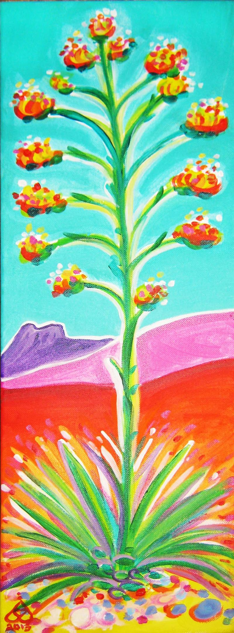 Rachel Houseman, Century Plant, ColorScapes Fine Art, ColorScapes, Desert Plants