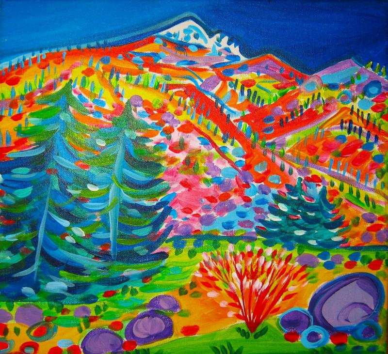 Rachel Houseman, Colorado, ColorScapes Fine Art, ColorScapes, Colorful Art