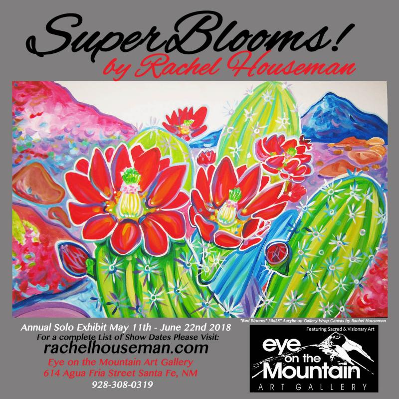 Rachel Houseman, Santa Fe Artist, ColorScapes Fine Art, ColorScapes, SuperBlooms