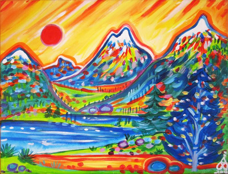 Rachel Houseman, Southwest Art, Colorful Art, ColorScapes, Soutwest, Colorado