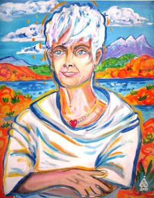 Rachel Houseman, Portraits, ColorScapes, Santa Fe Artist, Eye on the Mountain